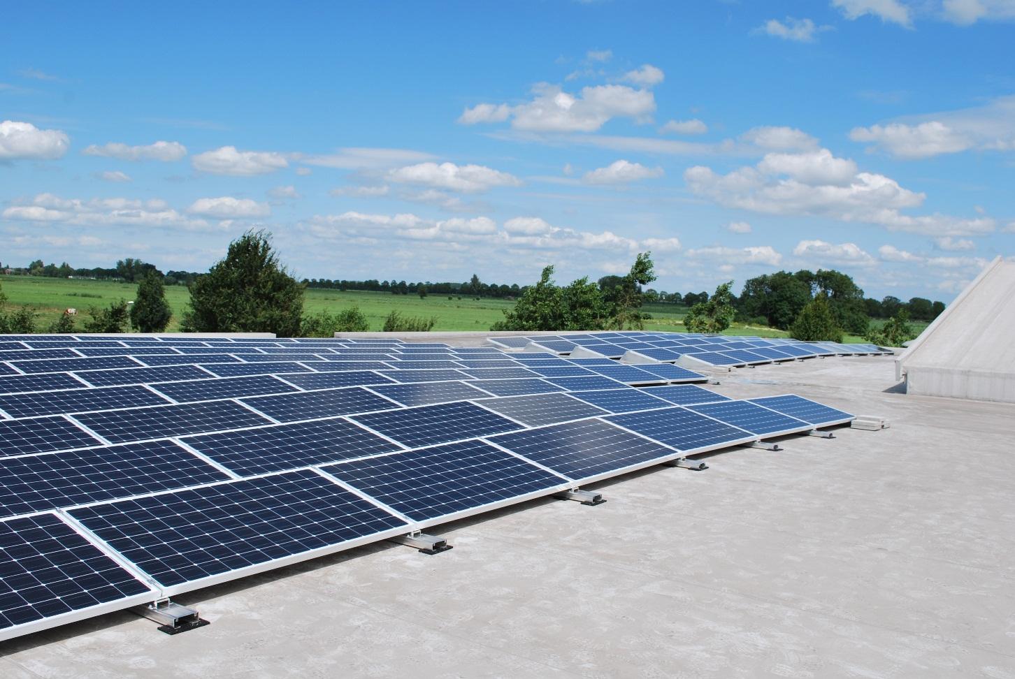 Duurzame energie met zonnepanelen